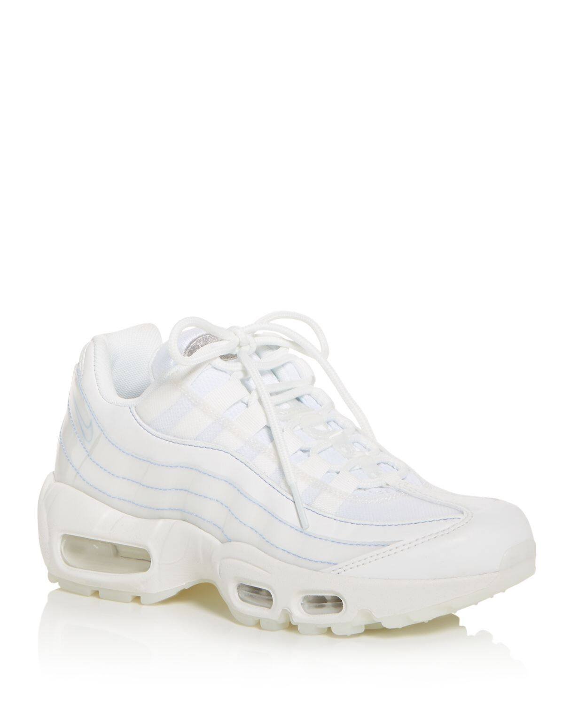 Nike Women's Air Max 95 Premium Low Top Sneakers (summit white) $85.68 + Free Shipping