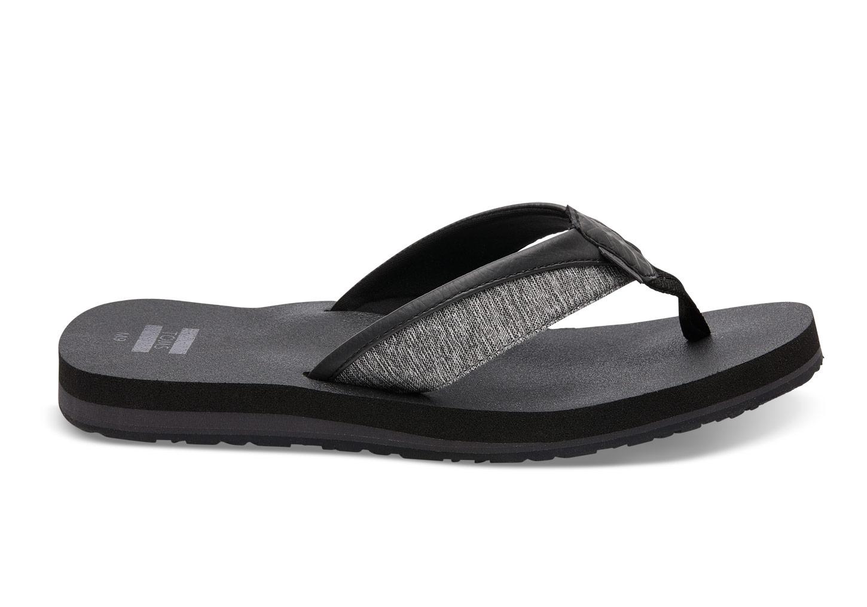 TOMS Flash Sale 30% Off Select Sandals & Wedges: Men's Santiago Flip Flops $19.59, Women's Embroidered Mesh Viv Sandals $21 & More + FS on $59+