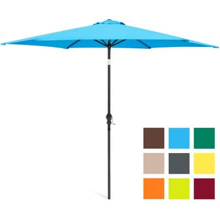 10-ft Outdoor Patio Umbrella (various colors) $36 + Free Shipping