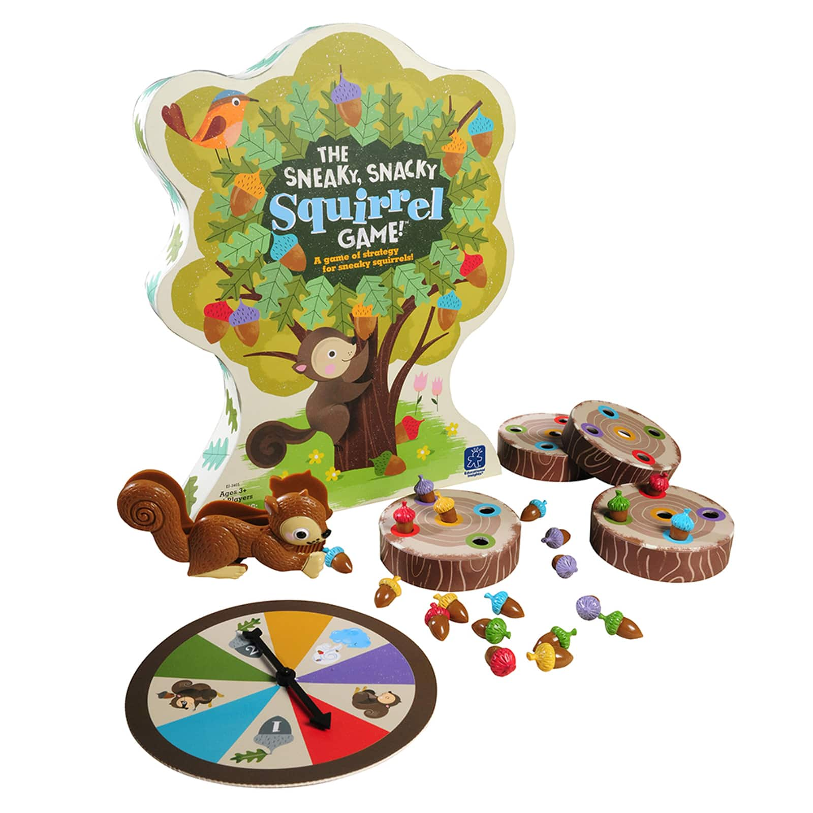 Walmart: Educational Insights: Kids' The Sneaky Squirrel Board Game $11.69 + Free Store Pick-Up