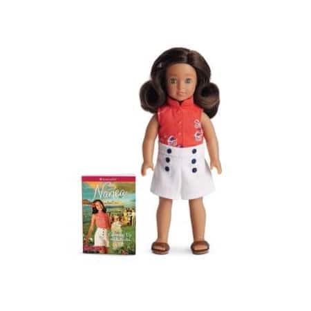 "American Girl 6.5"" Nanea Mini Doll w/ Mini Abridged Version of Book ""Growing Up With Aloha"" $14.03 + Free Store Pick-Up or FS w/ Amazon Prime"