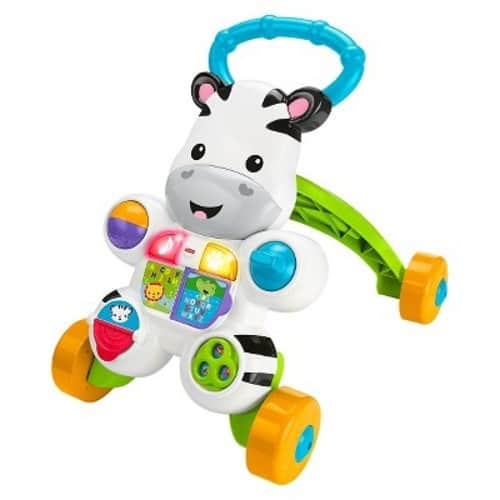 Walmart: Fisher Price Learn with Me Zebra Walker $13 + Free Store Pick-Up