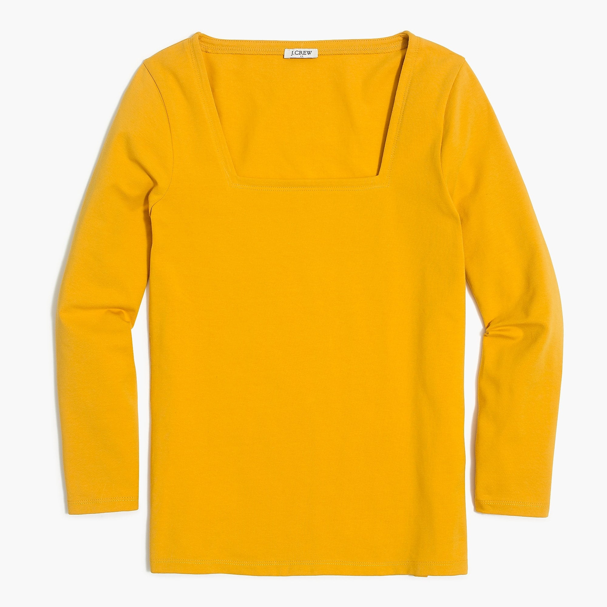 J. Crew Factory: 50% Off Sitwide + 15% Off: Women's Square Neck T-Shirt $8.49, Men's Casual Short Sleeve Button-Up Shirt $10.62 & More + Free Shipping