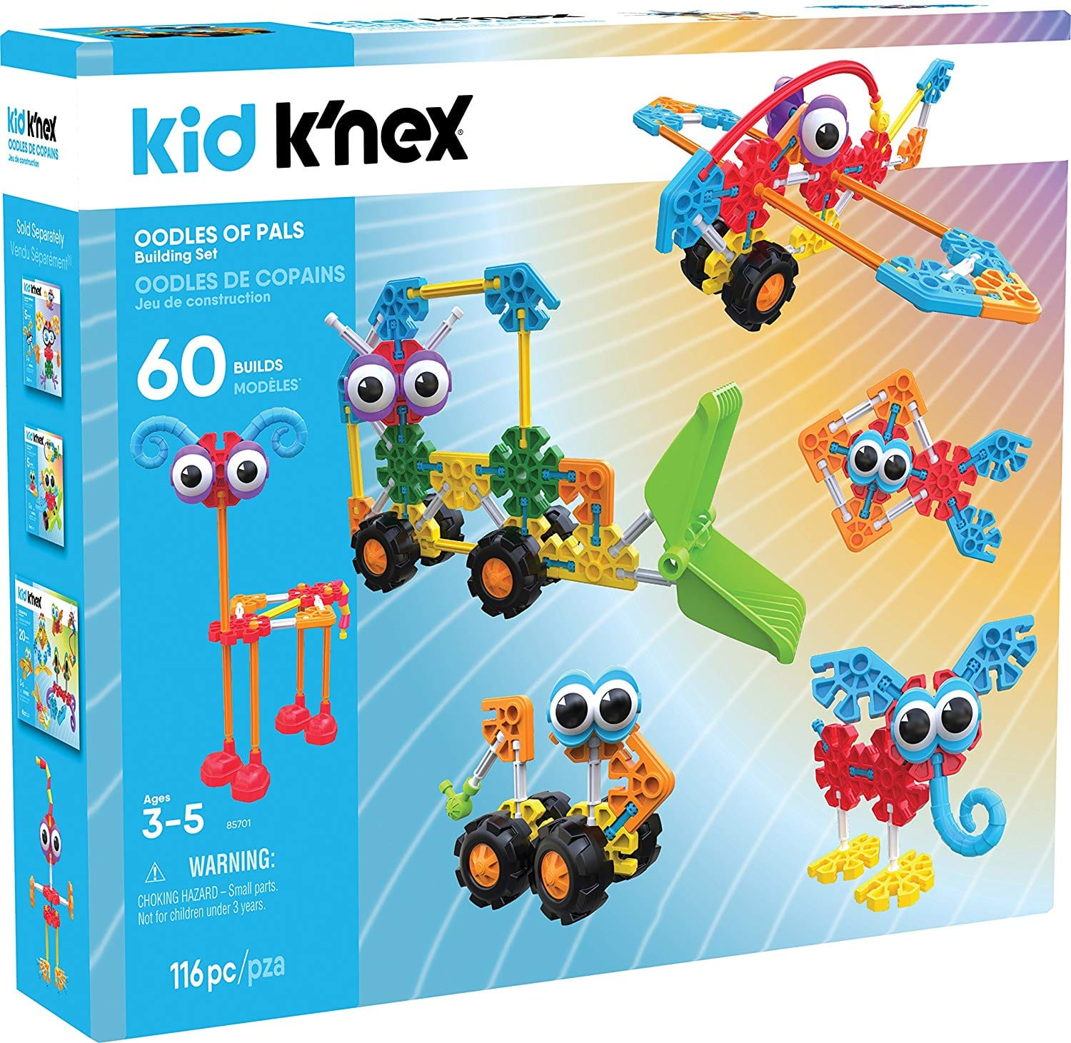K'NEX 115-Piece Oodles of Pals Building Set $25.27 + Free Shipping