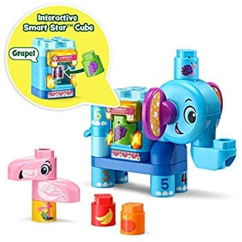 LeapFrog LeapBuilders 21-Pc Fruit Fun Elephant for $10.21 + Free Shipping w/ prime