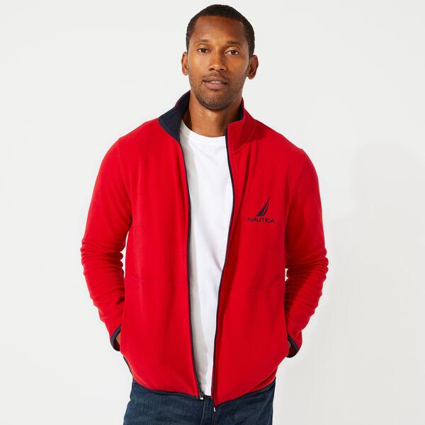 Nautica $10 off Select Outerwear + 15% Off: Men's Full Zip Nautex Fleece Jacket $21.09, Men's Straight Fit Denim $16.79 & More + FS on $50+