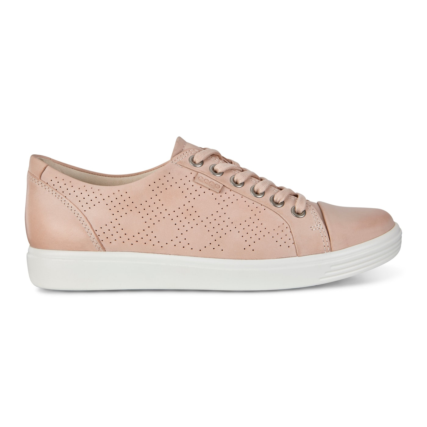 Ecco Women's Soft 7 Perf Tie Leather Sneaker $55 & More + Free Shipping