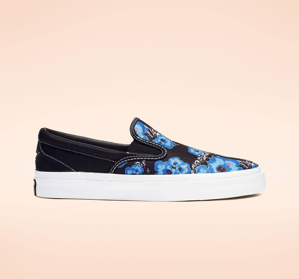 Converse 20% Off Select Clearance Styles: One Star CC Paradise Floral Slip-On Shoes $24 & More + Free Shipping $23.98