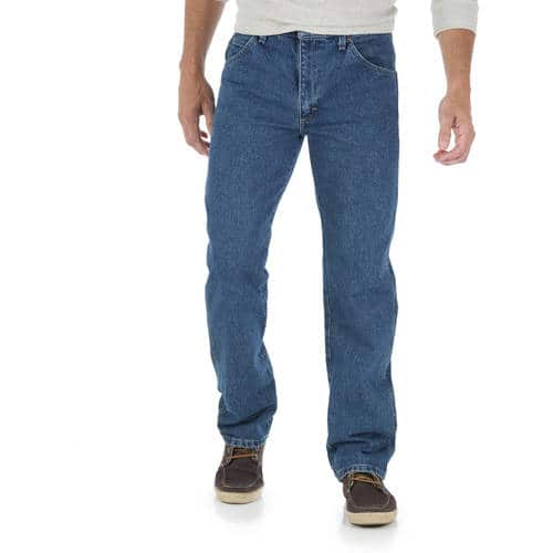 Wrangler Men's Regular Fit Jeans (various colors) $12 + FS on $35+