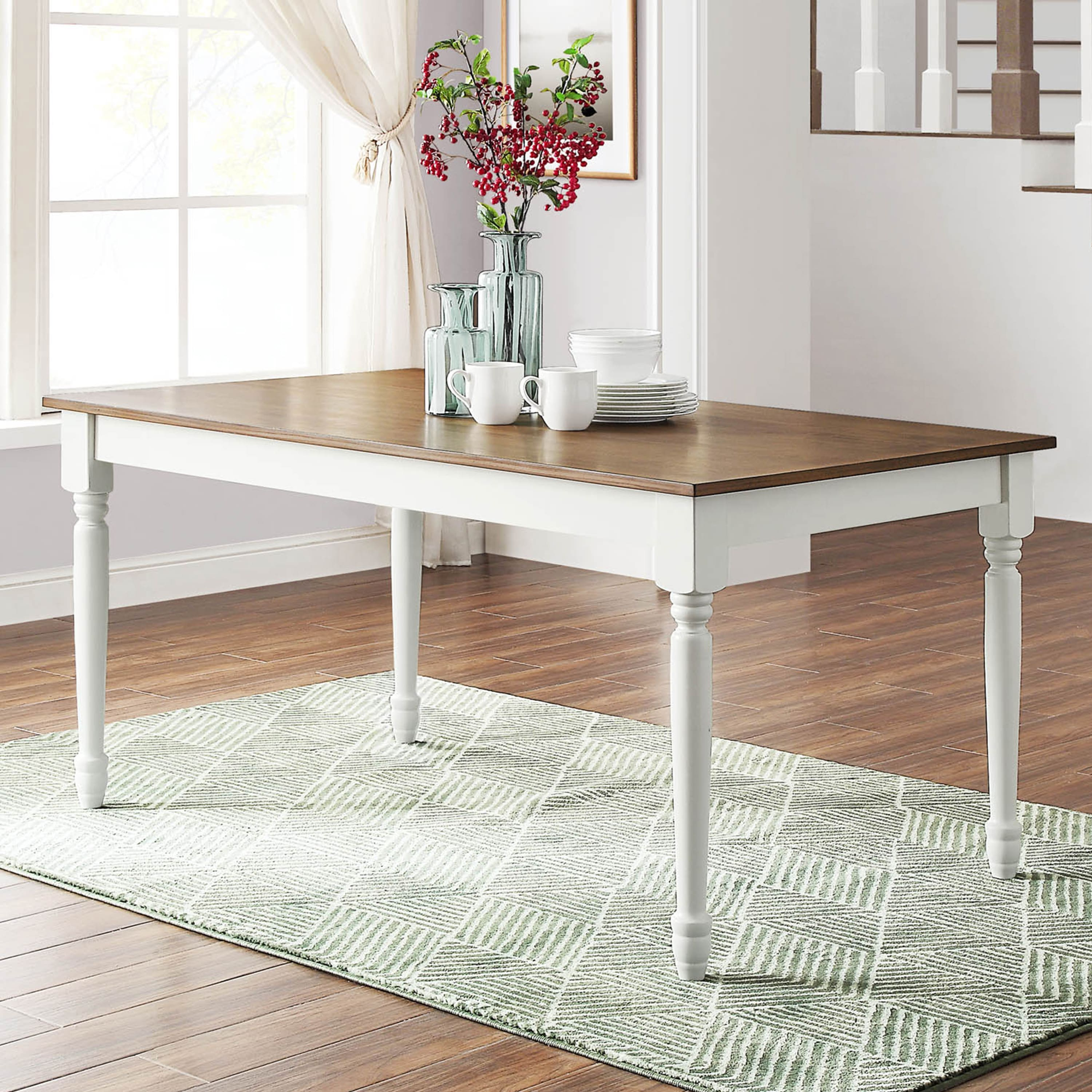 Better Homes & Gardens Harvest Lane Dining Table $68 + Free Shipping