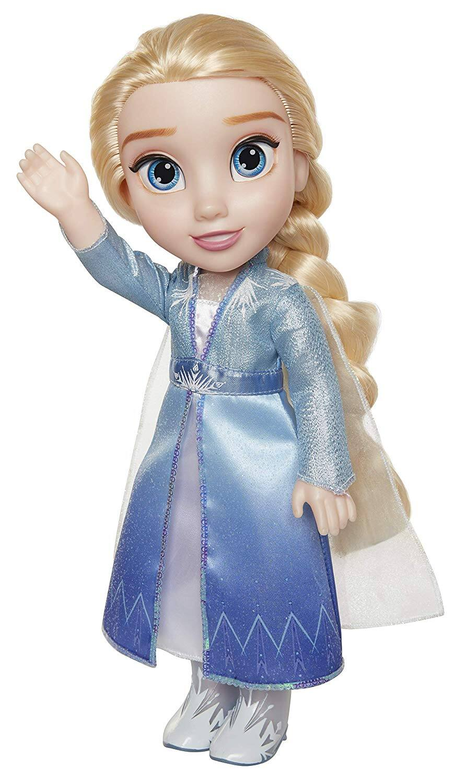 Disney Frozen 2: Princess Elsa Adventure Doll $15, Princess Anna Adventure Doll $15 + Free Store Pickup at Walmart or FS w/ prime