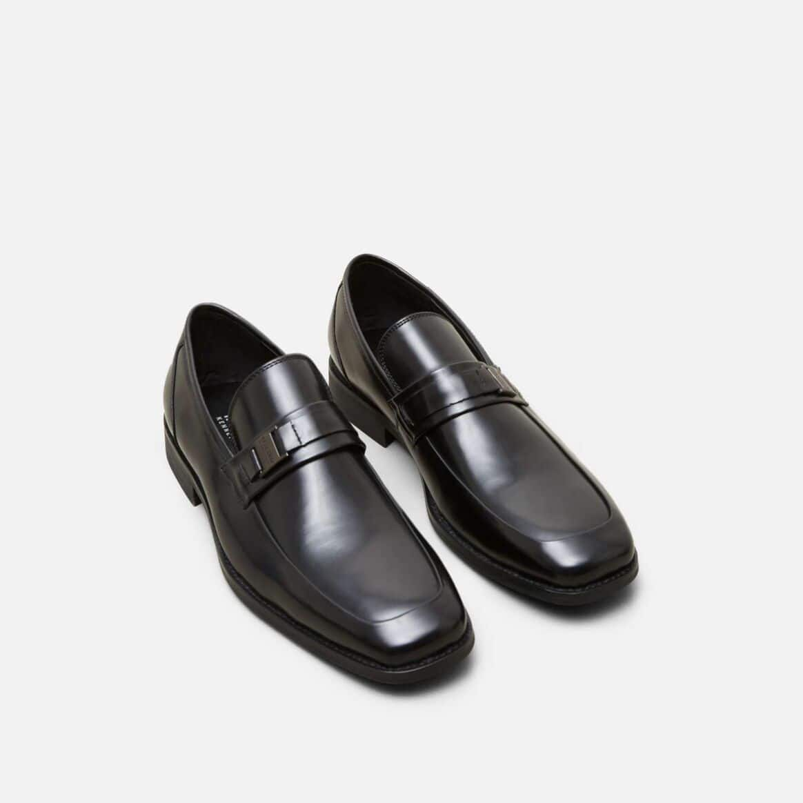 Kenneth Cole Reaction: Men's Near D Mark Bit Detailed Loafer $29, Men's Intrepid Low Top Sneaker $34 + FS on $50 w/ ShopRunner