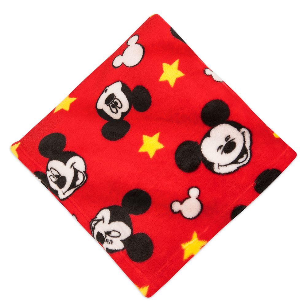 "60"" x 50"" Disney Mickey Mouse Fleece Throw $8, Boys' Buzz Lightyear Costume PJ Pals $12 & More + Free Shipping"