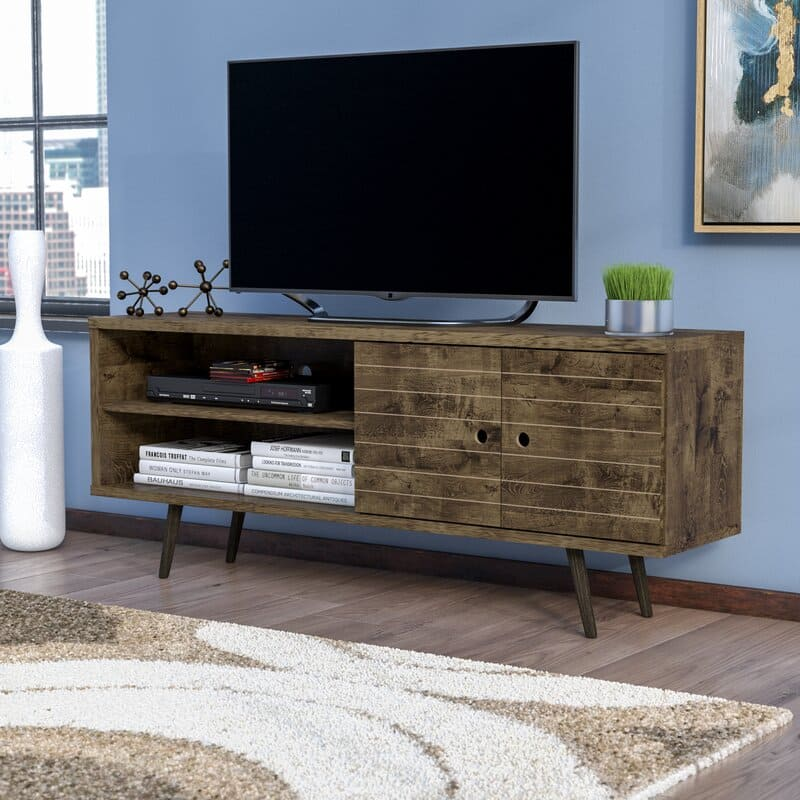 """Mistana Hal TV Stand for up to 60"""" TVs (7 colors) $124.79"""