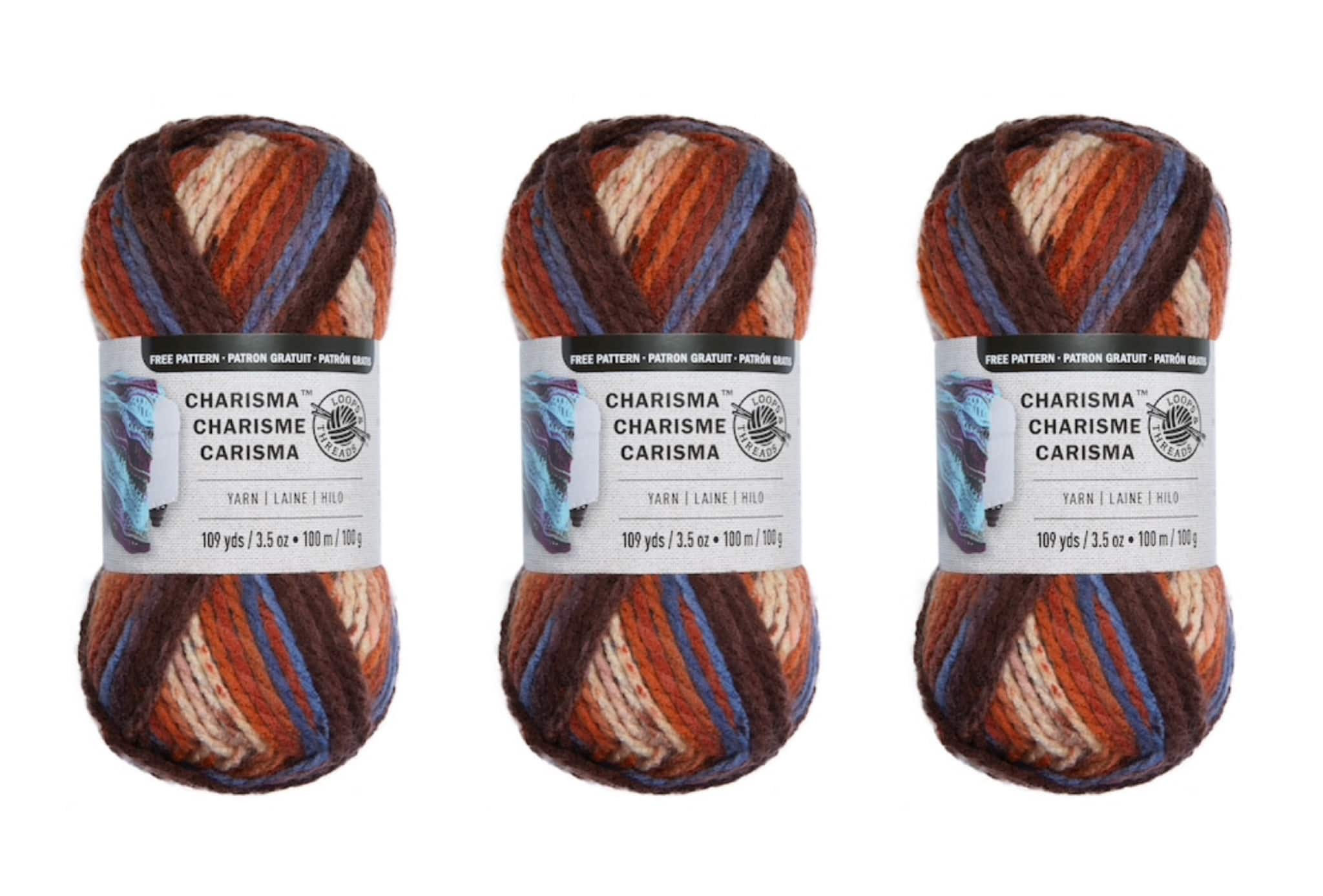 Charisma Yarn by Loops & Threads 3 for $4.29 ($1.43 each), Loops & Threads Impeccable Yarn $1.59 + Free Store Pickup at Michaels