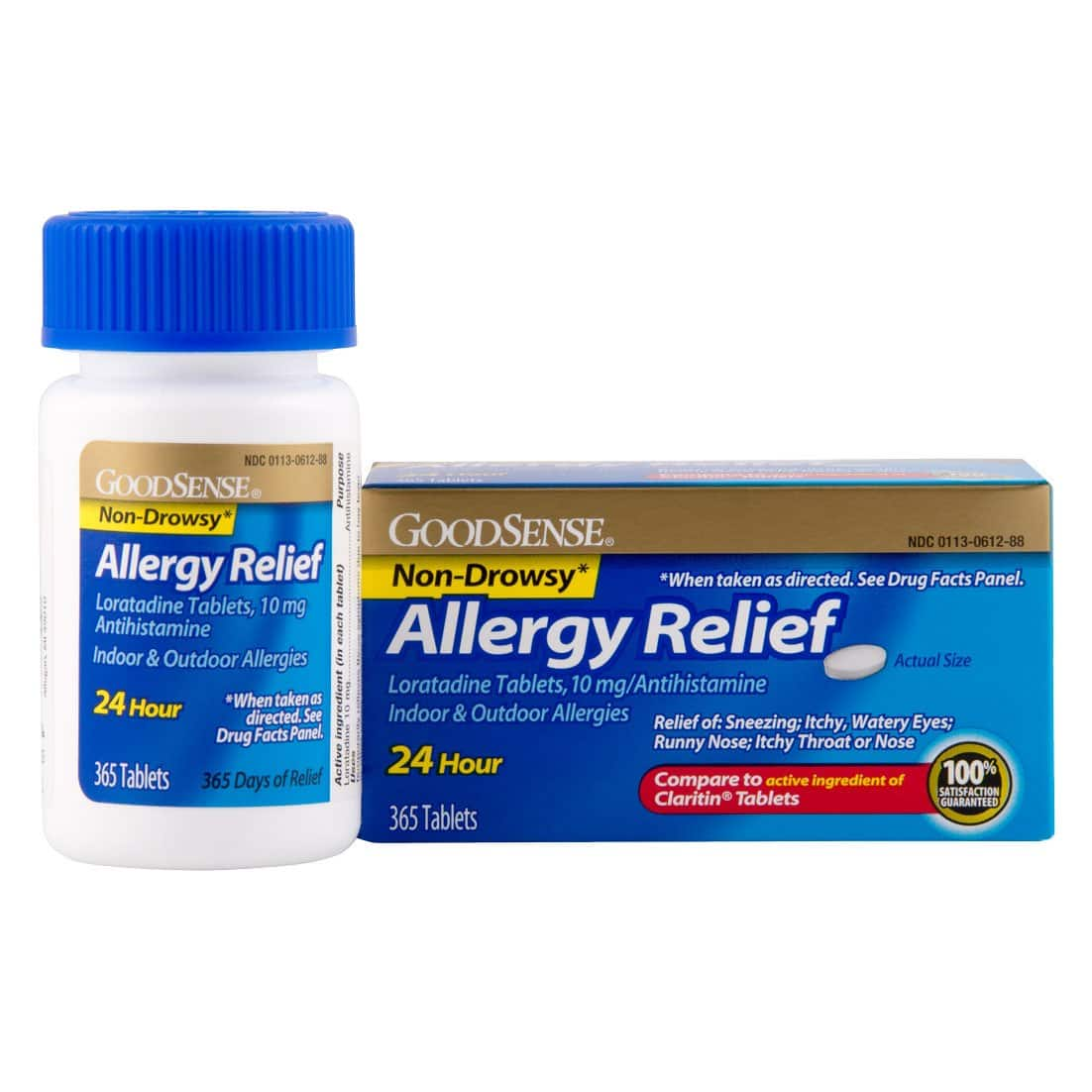 365-Count GoodSense Allergy Relief Loratadine Tablets $10.44 w/ S&S + Free S/H