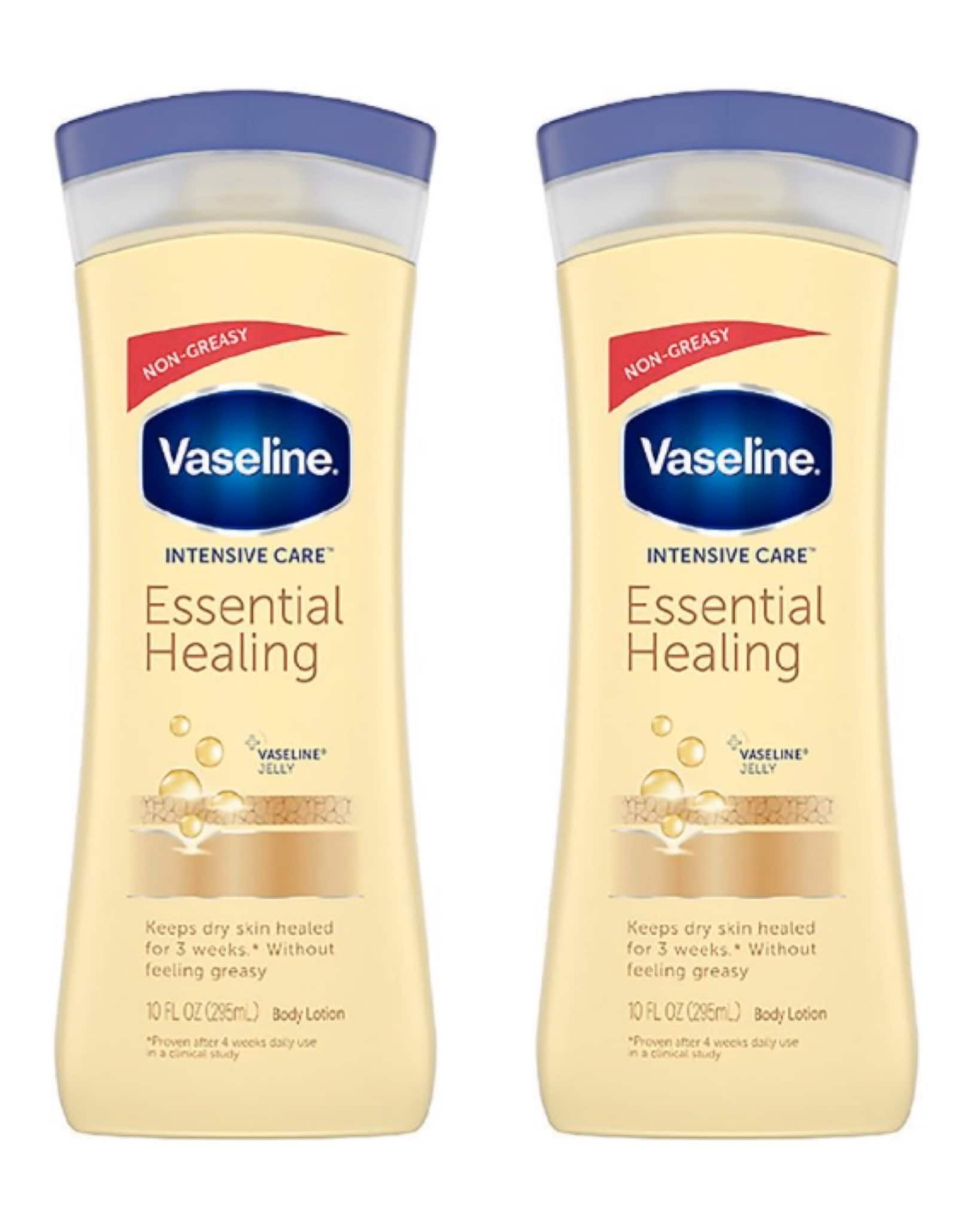 10-oz Vaseline Essential Healing Body Lotion 2 for $4.44 ($2.22 each), 7.5-oz Vaseline Cocoa Butter Petroleum Jelly 2 for $6.24 ($3.12 each) + Free Ship to Store at Walgreens