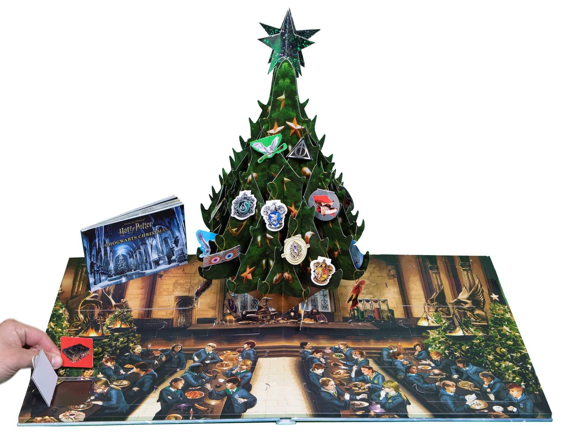 Harry Potter: A Hogwarts Christmas Pop-Up Advent Calendar by Insight Editions $20 + Free Shipping w/ prime