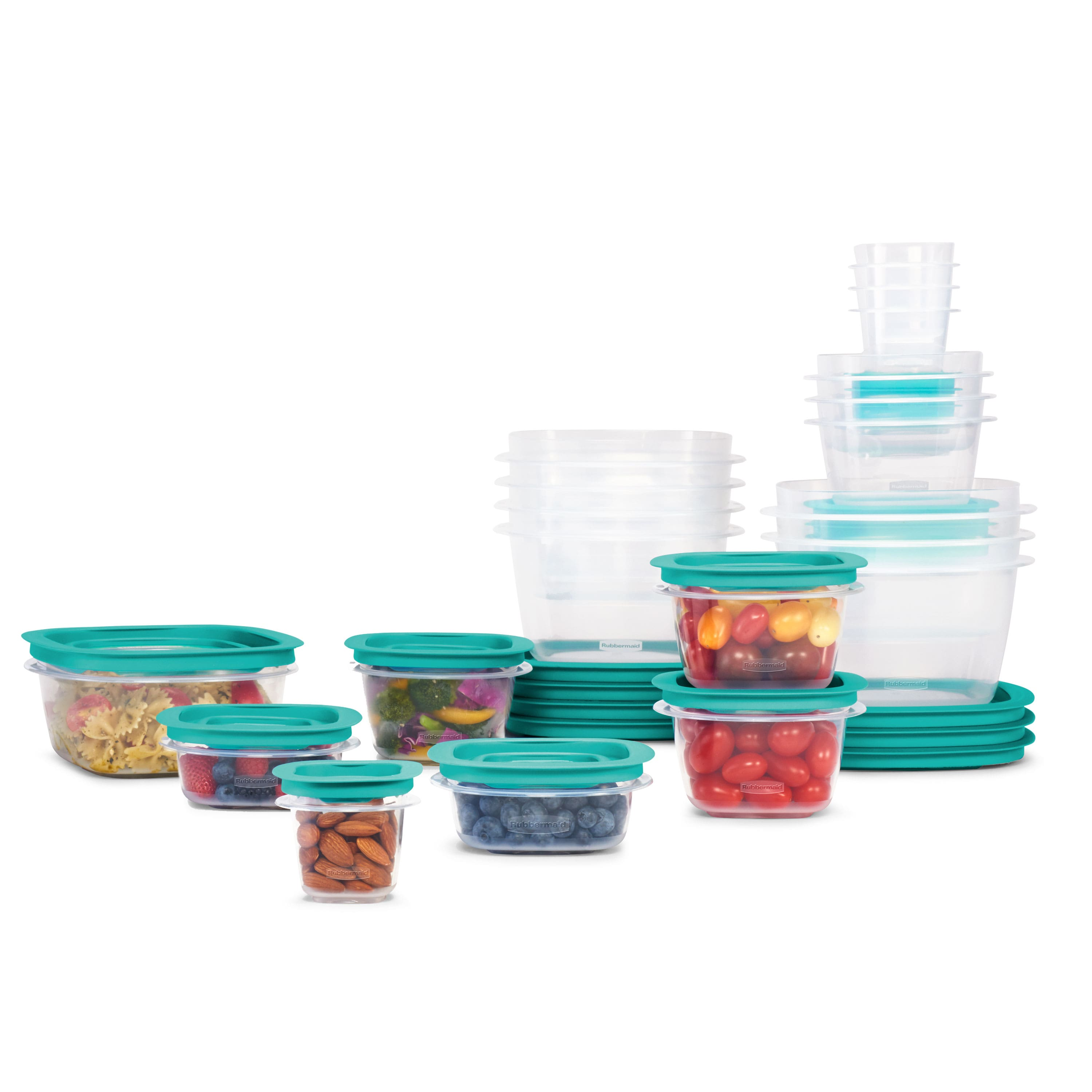 42-Count Rubbermaid Press & Lock Food Storage Containers for $20 + Free Store Pickup at Walmart
