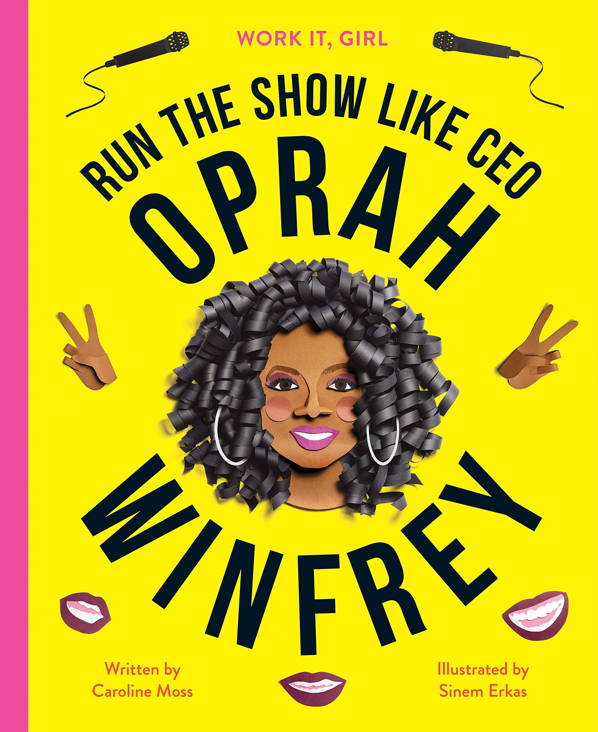 Work It, Girl Hardcover Books: Oprah Winfrey: Run the Show Like CEO $2.69, J.K Rowling: Boss the Bestseller List $6.62 + Free Shipping w/ prime