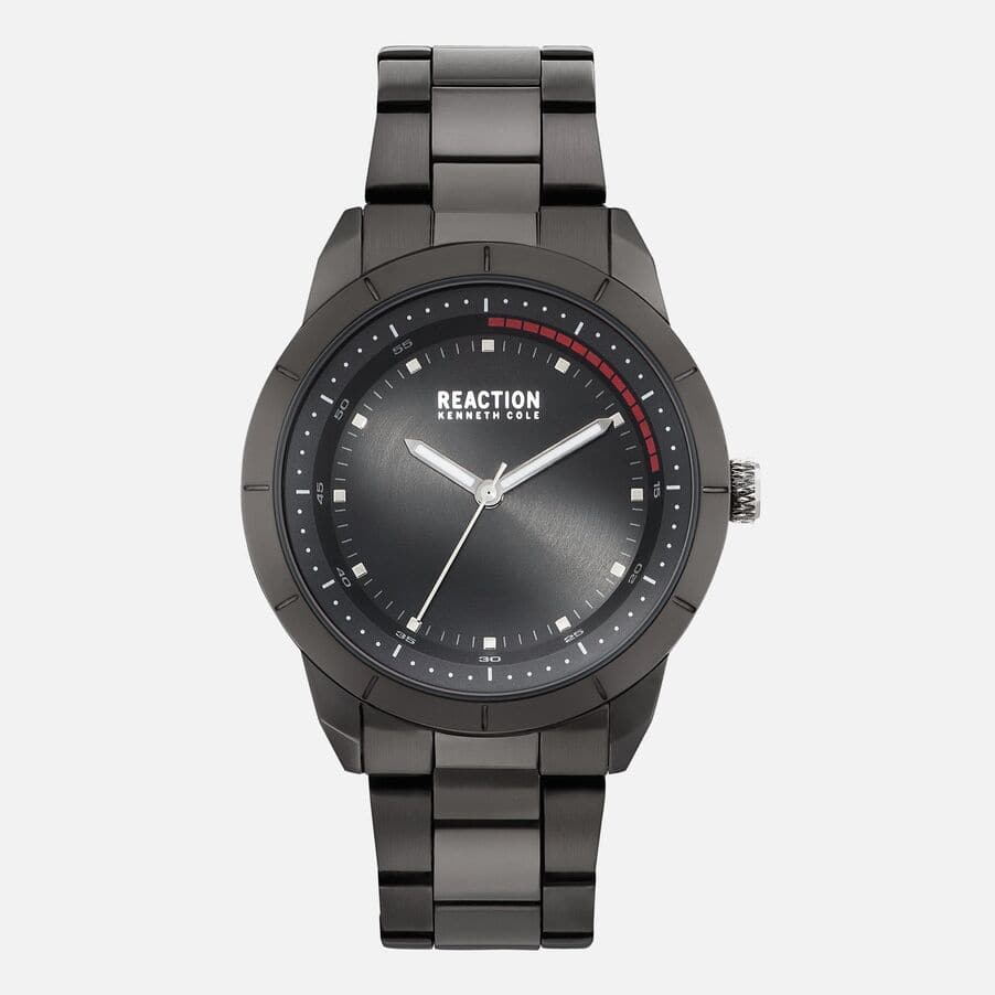 Kenneth Cole Men's All Black Link Watch $21.60, Women's Mother of Pearl Watch $21.60 & More + FS on $50+ w/ Shop Runner