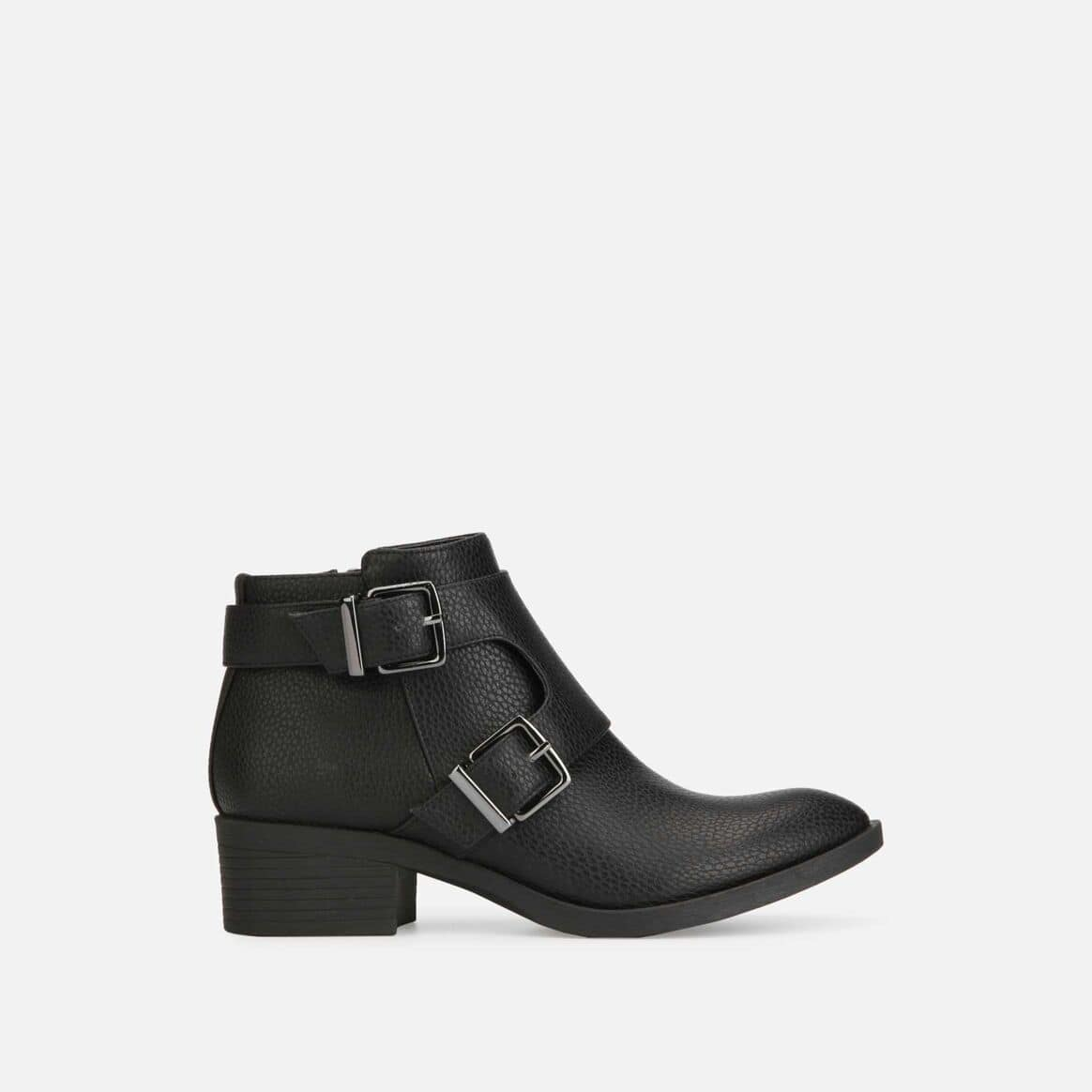 Kenneth Cole Shoes: Men's Vinny Driver Suede Loafer $12, Women's Re-Buckle Boot