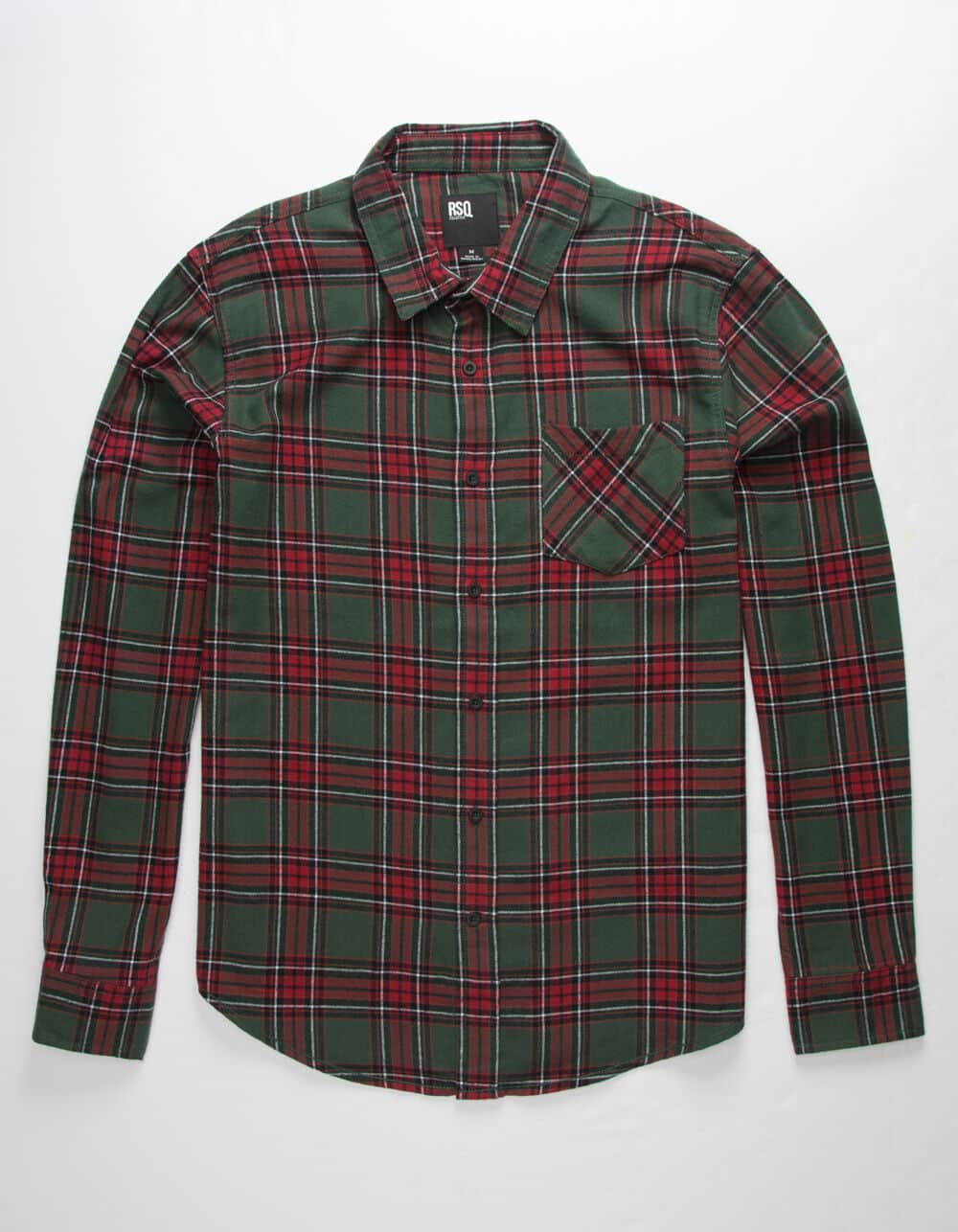 Tillys' Flash Sale: Men's RSQ Flannel Shirt $6, Women's Full Tilt Camo Sweatshirt $6, Boys' RSQ Flannel Shirt $5 & More + Free Shipping