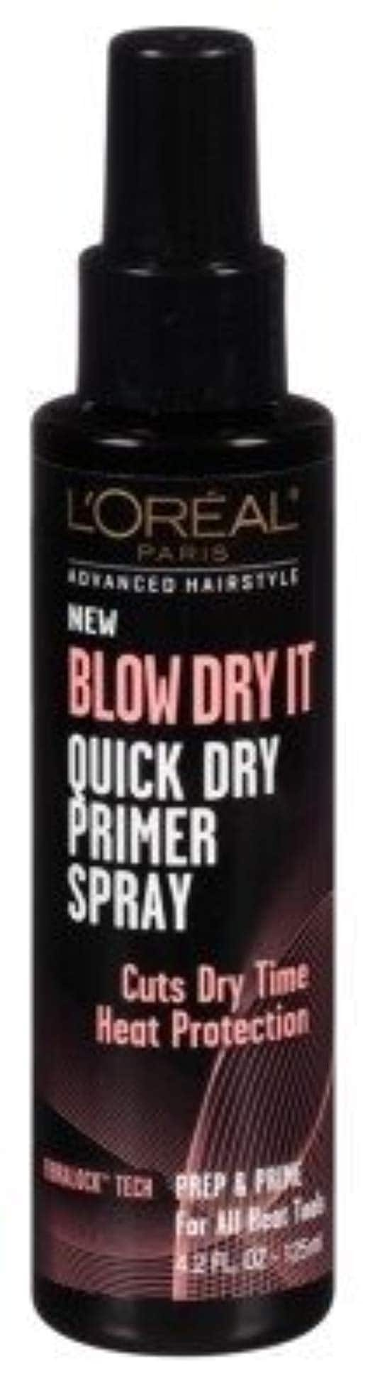 4.2-oz L'Oreal BLOW DRY IT Quick Dry Primer Spray $3.22 w/ S&S + Free Shipping