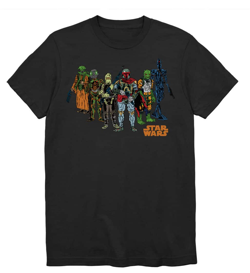 Star Wars Men's Graphic Tees (various colors) starting at $2.39 + Free Store Pickup at JCPenney on $25+