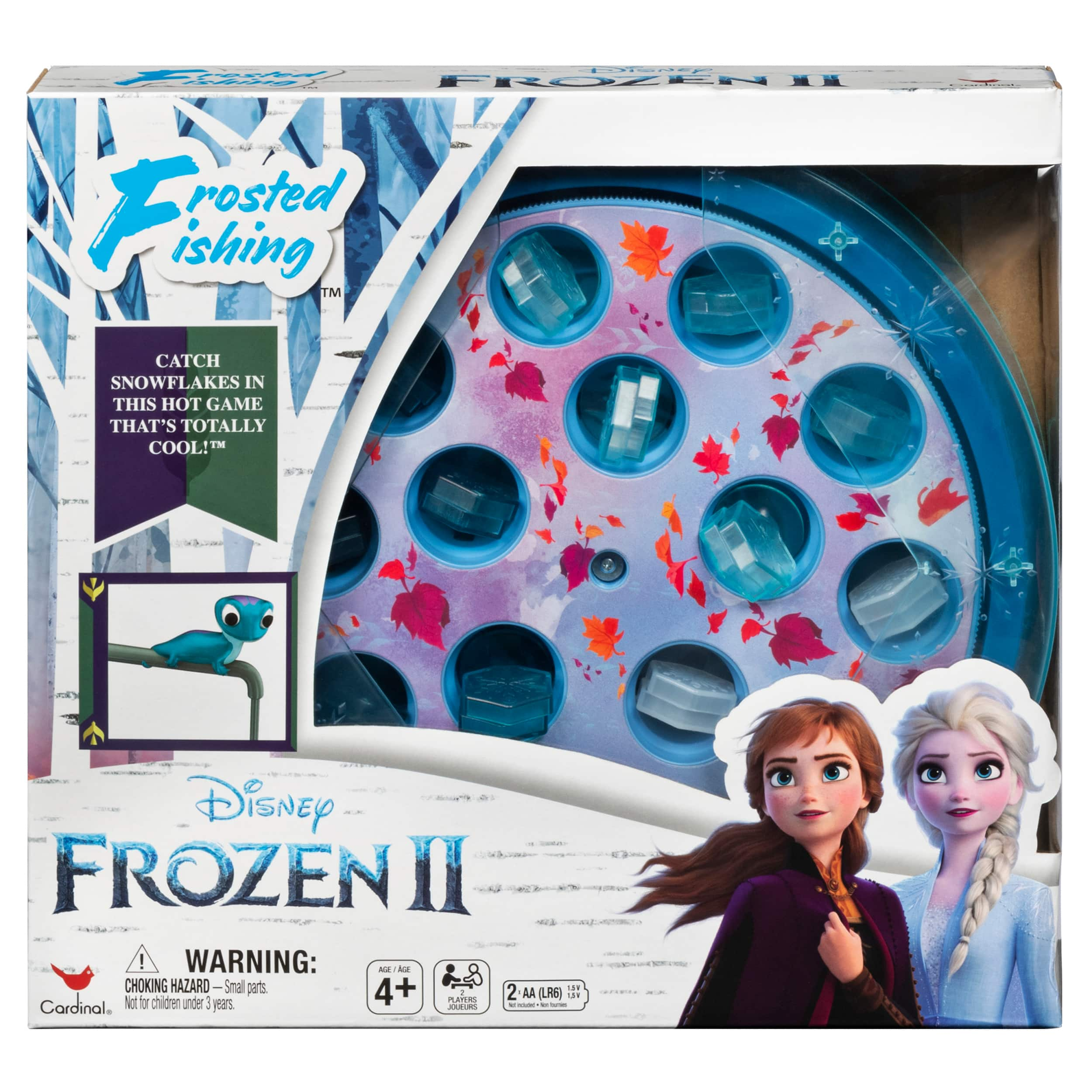 Rubik's Cube Neon Pop 3x3 Puzzle $5, Disney Frozen II Frosted Fishing Game $7.49 & More + Free Store Pickup at Walmart or FS on $35+
