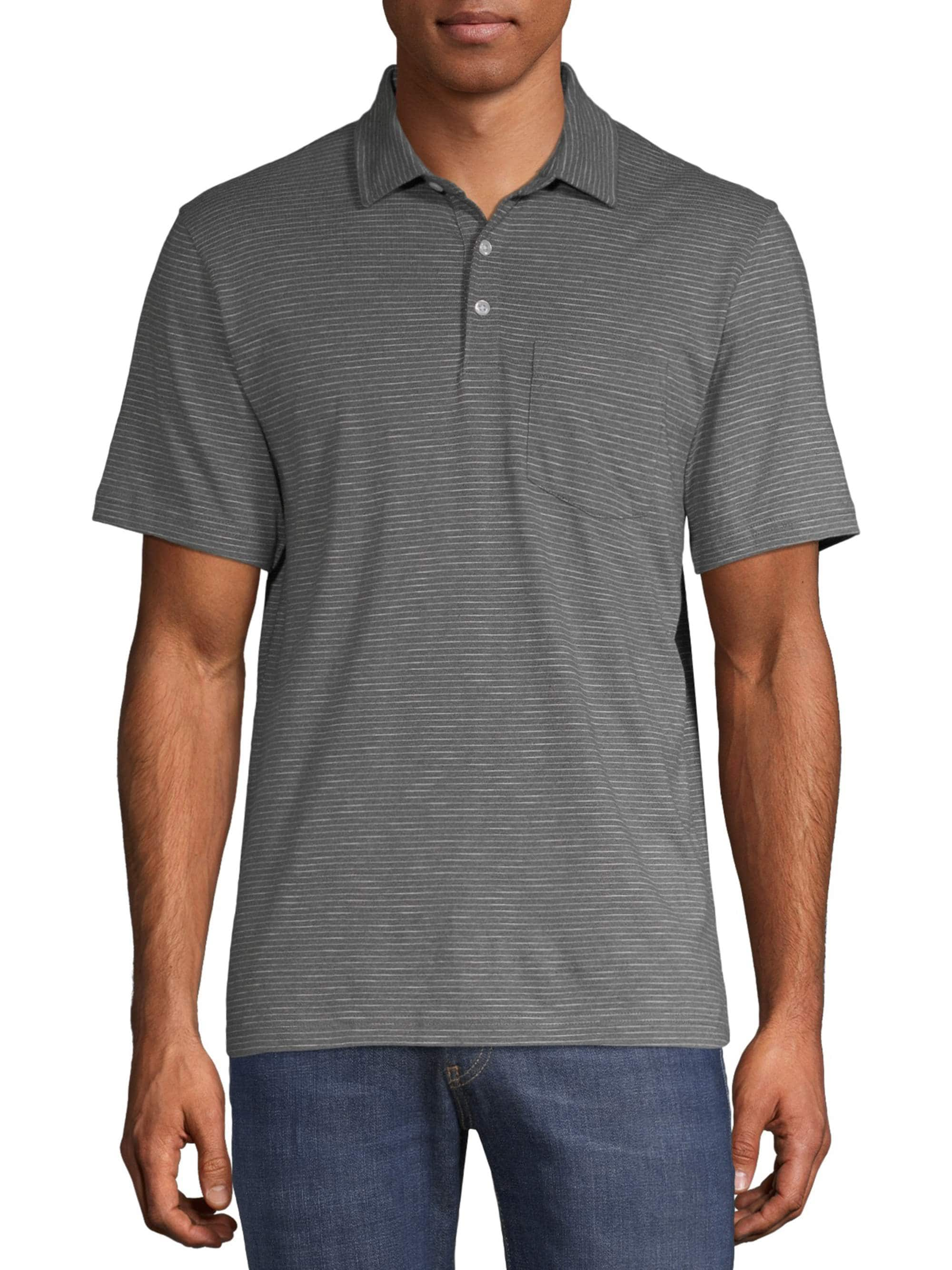 George Men's Jersey Short Sleeve Polo Shirt $5.50 + Free Store Pickup at Walmart or FS on $35+