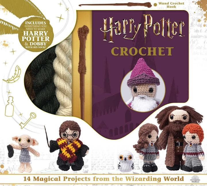 Harry Potter Crochet Kit $14 + Free Store Pickup at Walmart or FS w/ Prime or on $25+