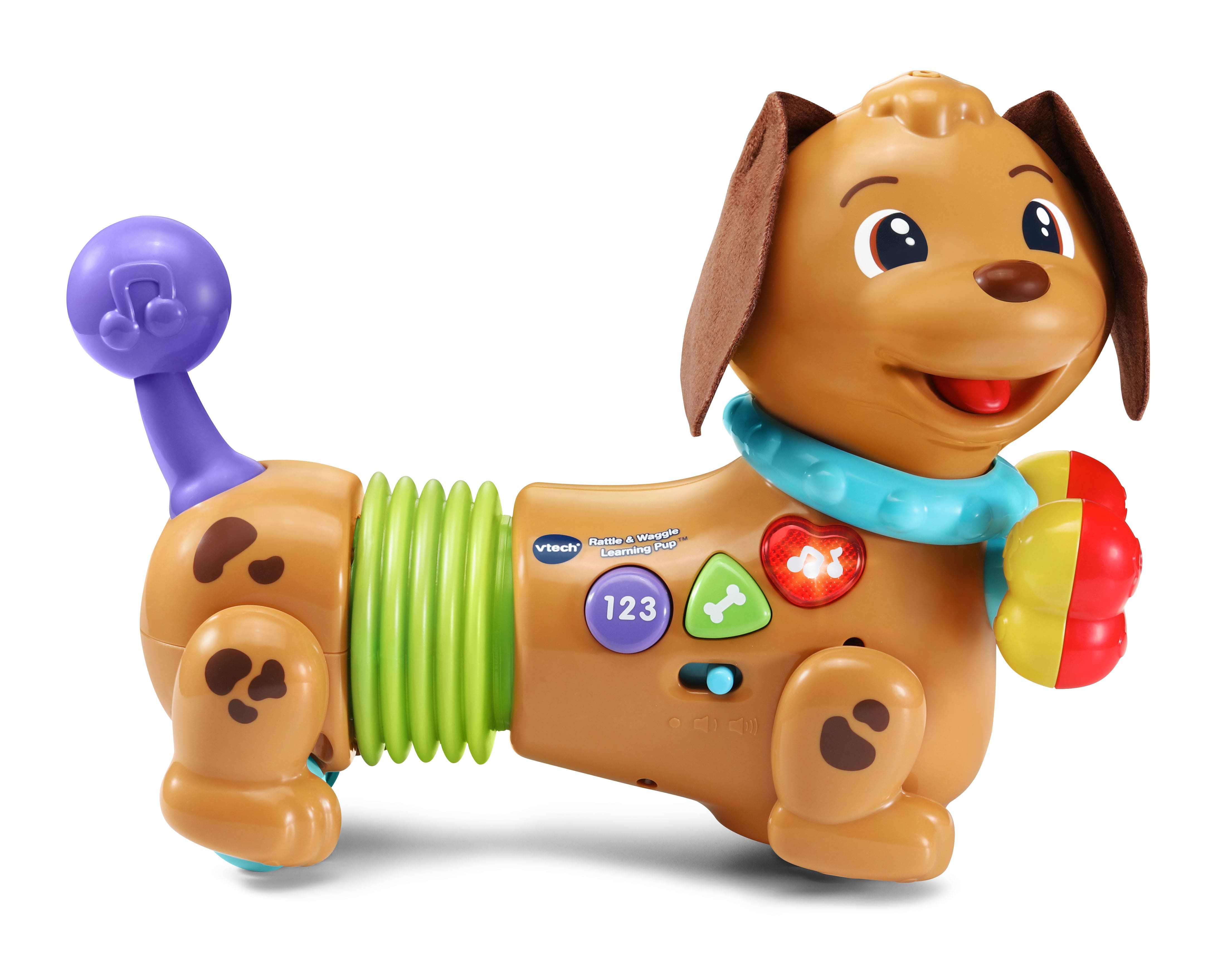 VTech Rattle and Waggle Learning Pup Toy for Toddlers $14.41 + Free Shipping on $35+ or FS w/ Prime or on $25+