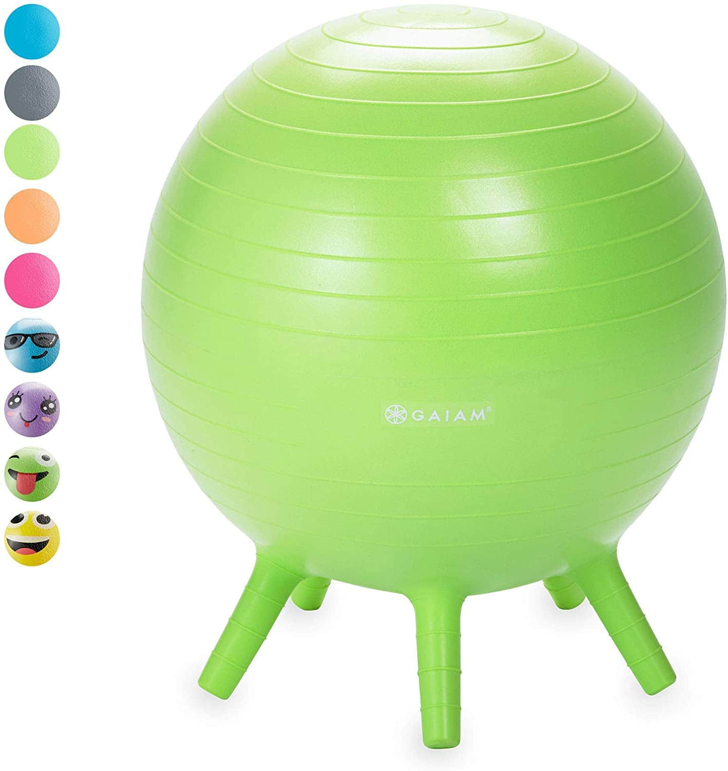 Gaiam Kids' Stay-n-Play Balance Ball $13.80 + Free Shipping w/ Prime or orders $25+