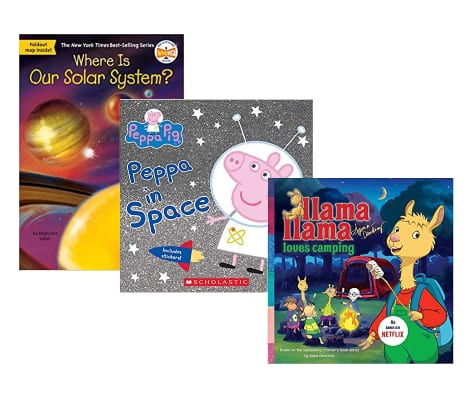 Amazon Kids' Books Buy 2 Get 1 Free: Prices from 3 for $5.56 ($1.85 each) + Free Shipping w/ Prime or on orders over $25