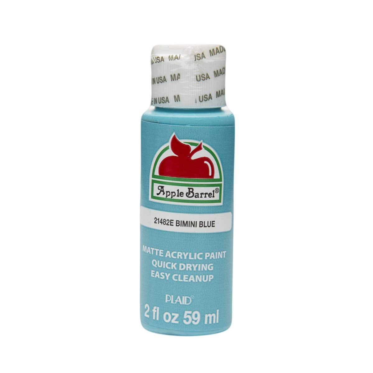 2-Oz Apple Barrel Acrylic Paint $0.50 + Free Shipping w/ Prime or on $25+
