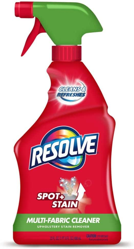 22-Oz Resolve Multi-Fabric Cleaner and Upholstery Stain Remover $3.75 w/ S&S + Free Shipping w/ Prime or on $25+