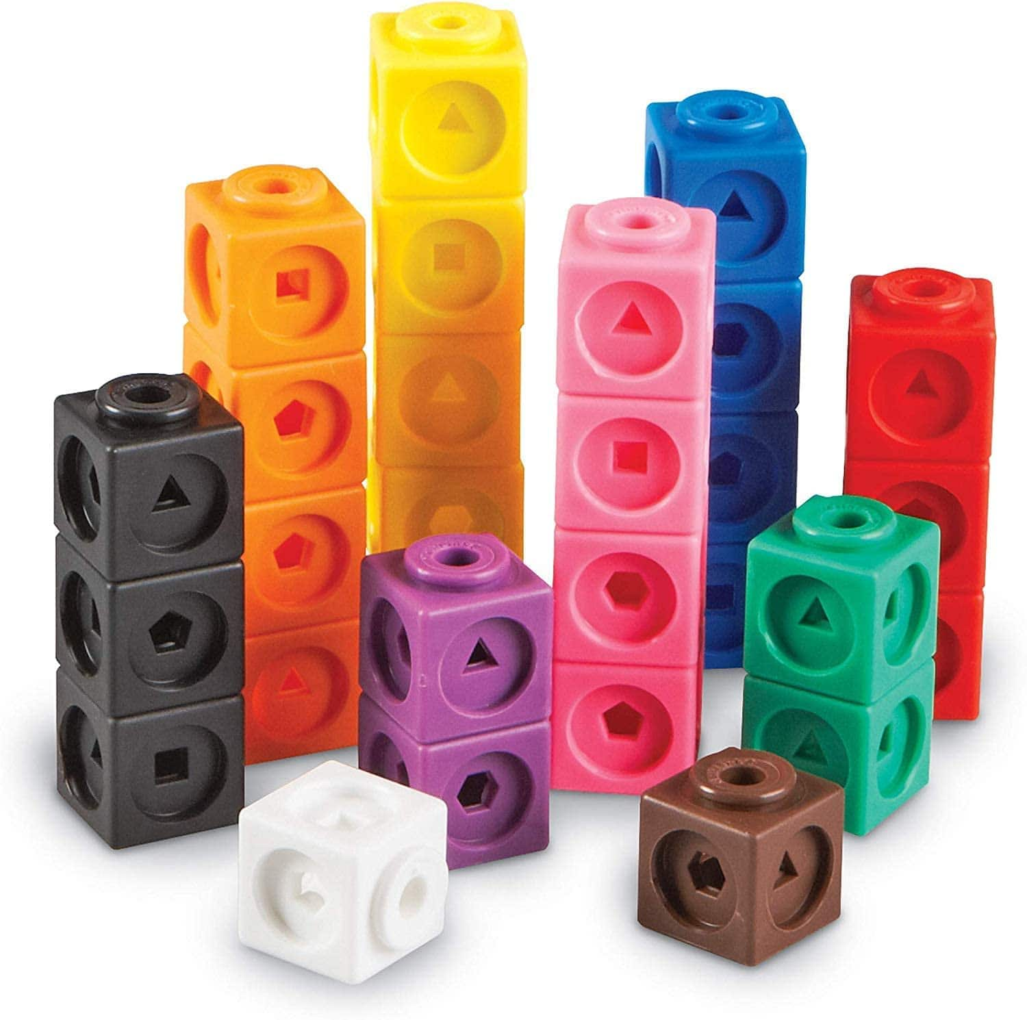 100-Piece Learning Resources Mathlink Cubes $10, 50-Piece Learning Resources Let's Go Code Kids' Activity Set $16, More + Free Shipping w/ Prime or on $25+
