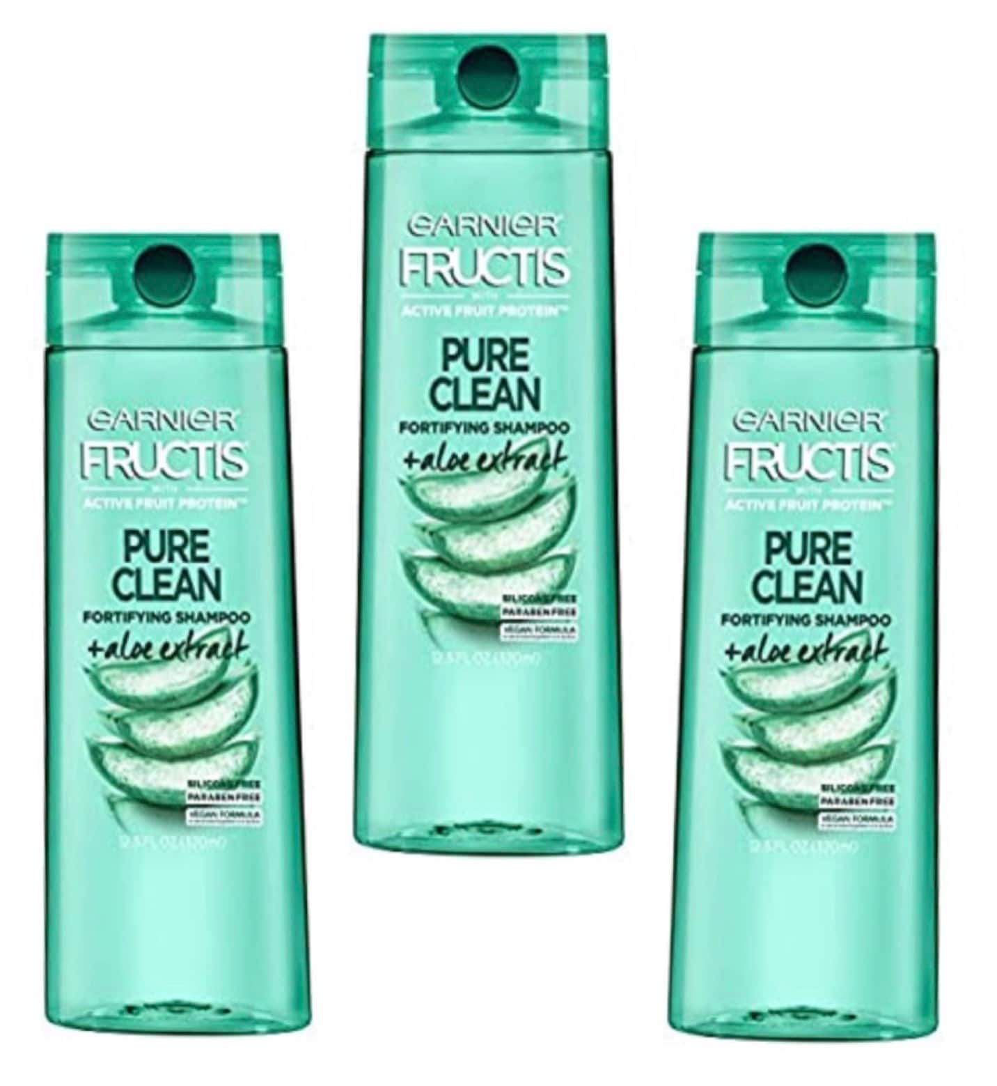 12.5-Oz Garnier Fructis Shampoo w/ Aloe Extract 3 for $5.22 ($1.74 each) w/ S&S + Free Shipping w/ Prime or on $25+