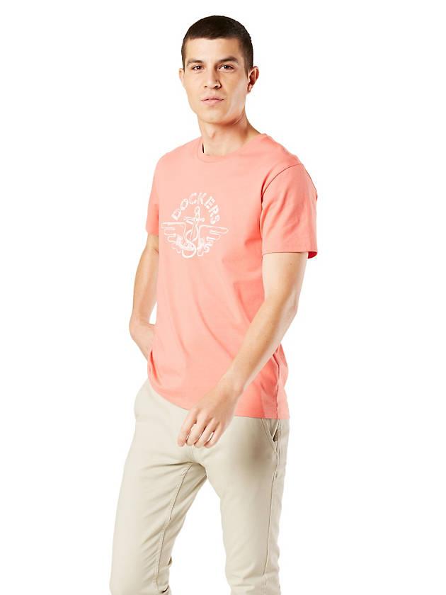 Docker's Sale: Men's Dockers Logo Tee Shirt $6, Women's Turtleneck $7.50, More + Free Shipping