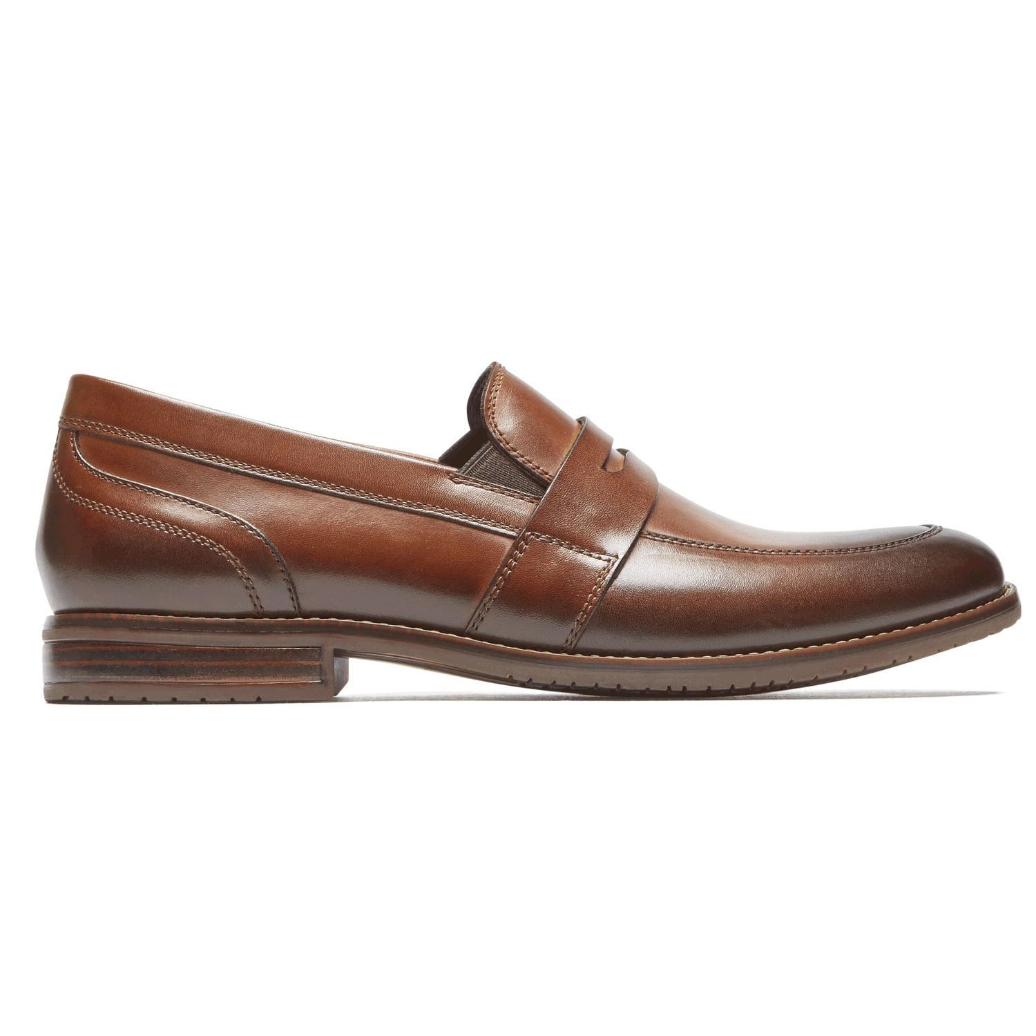 Rockport Men's Style Purpose 3 Double Gore Leather Penny Loafer (cognac leather) $34.98 Shipped