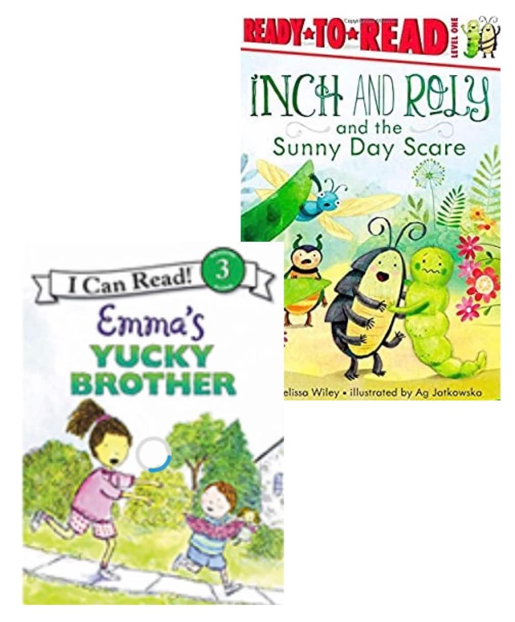 B1G1 50% Books: Children's Books (Emma's Yucky Brother, Inch & Roly and the Sunny Day Scare, More) from 2 for $6 ($3 each) + Free Shipping w/ Prime or on orders $25+