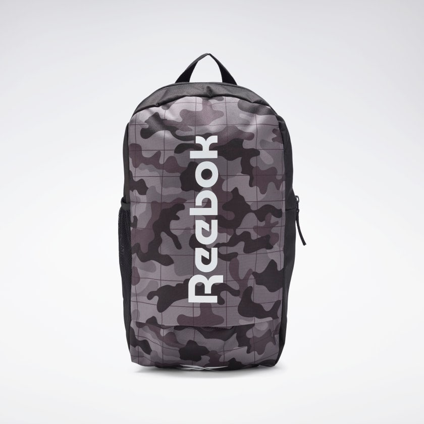 Reebok Core Graphic Backpack $12.50, Reebok Workout Ready Active Backpack $12.50, More + Free Shipping