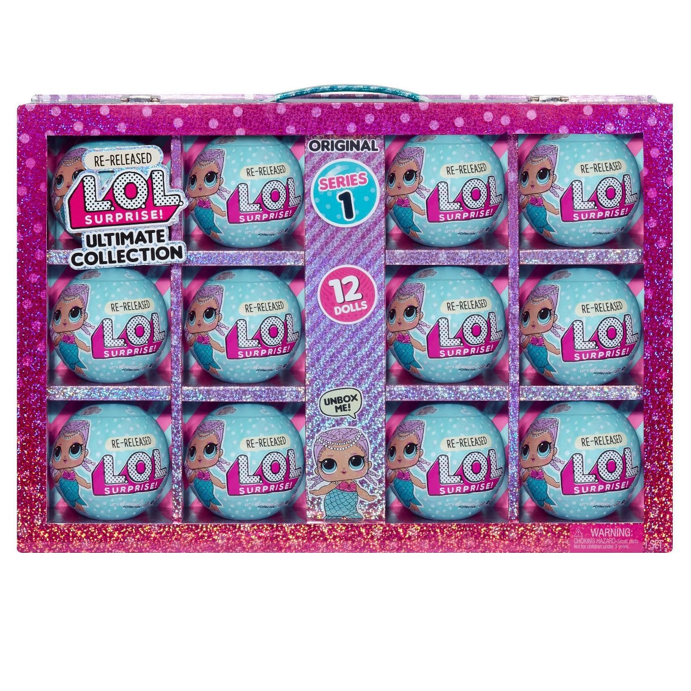 12-Count L.O.L. Surprise! S1 Ultimate Collection Merbaby Re-Released Dolls $50 + Free Shipping