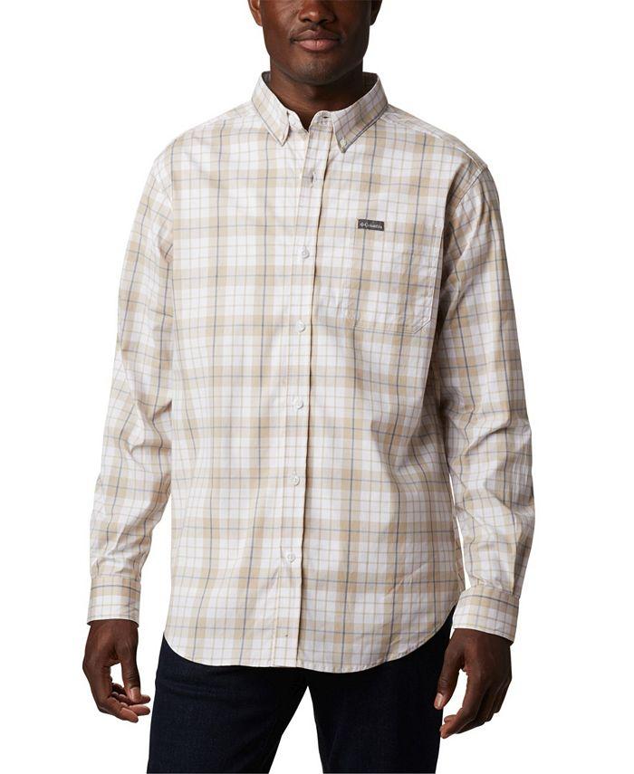 Columbia Men's Rapid Rivers II Long Sleeve Button-Down Shirt $12.06, Columbia Men's Vapor Ridge III Plaid Shirt $12.06 +  6% Slickdeals Cashback (PC Req'd) + FS on $25+ @Macys
