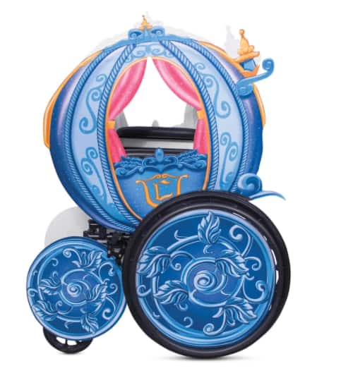 """53""""x42"""" Cinderella's Coach Wheelchair Cover Set by Disguise $40 + Free Shipping"""