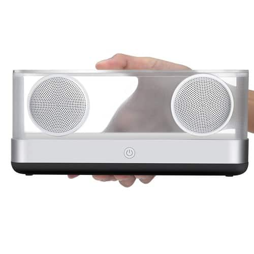 Portable Wireless Speaker,20W Clear Wireless Bluetooth Speaker - $34.99