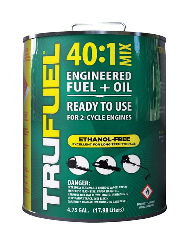 TruFuel 40:1 2 Cycle Engine Premixed Gas and Oil 4.75 gal $59.99 FS to store