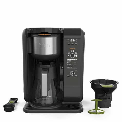 Ninja Hot and Cold Auto-iQ Tea and Coffee Maker Glass CP301 $144.49