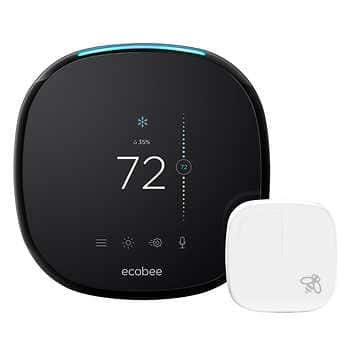 Ecobee 4 Smart Thermostat $169.99 ($199.99 - $30 Instant Savings from 9/4/19)
